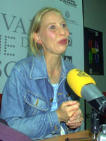 La actriz Kati Outinen