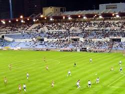 Poco público en el primer partido de liguilla de la UEFA