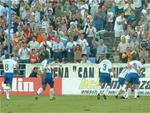 El Real Zaragoza en el campo de juego