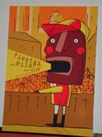 """""""El pregonero"""", cartel ganador de las fiestas del Pilar 2005"""