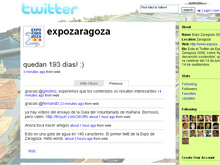 La Exposición Internacional se podrá conocer a través de Twitter