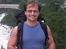 El montañero Santiago Sagaste