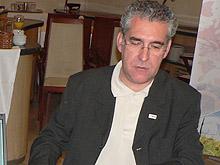 Chesus Bernal, candidato de CHA a la Presidencia de la DGA