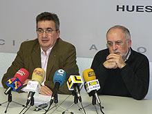 José María Becana y Víctor Morlán