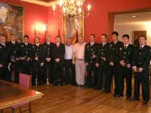 Los nuevos policías han tomado posesión de su cargo este martes