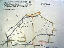 Los mapas muestran proyectos de regadío y ordenación del territorio