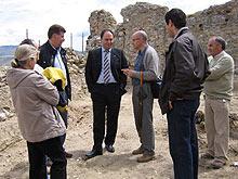 El alcalde de Calatayud en el Conjunto Fortificado