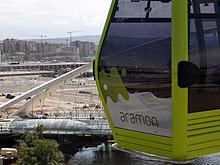 Casi un millón de visitantes de la Expo han usado la telecabina