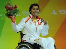 Teresa Perales ha ganado cinco medallas