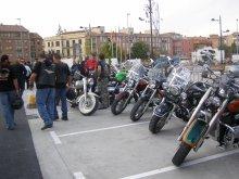 Más de cuatrocientos moteros se reúnen este fin de semana en Tarazona