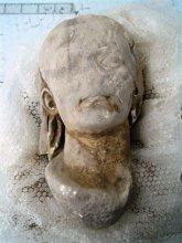 El cuarto retrato de Augusto del modelo Capite Velato hallado en Hispania apareció en Bílbilis