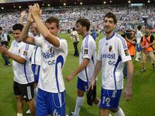 El Real Zaragoza descendió en la temporada 2007-2008 y ascendió en la 2008-2009