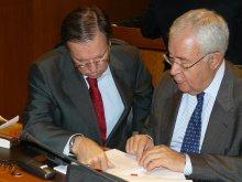Iglesias y Biel en el día del primer paso hacia una Ley de Lenguas en Aragón