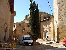 Obras del Palacio Episcopal de Barbastro