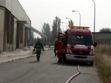 En el incendio han participado 40 bomberos