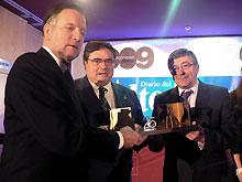 Los grandes homenajeados han recibido su premio de manos del presidente de Aragón