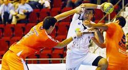 Stankovic no jugará por lesión. Web CAI BM Aragón
