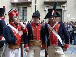 La ruta de Los Sitios reviven la Zaragoza de hace 200 años