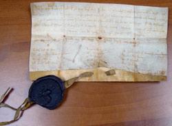 Documento fundacional del Justiciazgo de Ganaderos, 18 de mayo de 1218
