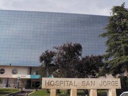 Los heridos fueron trasladados al Hospital San Jorge de Huesca