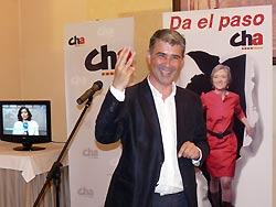 Martín se ha mostrado satisfecho por ser la tercera fuerza más votada en el Ayuntamiento