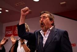 Belloch destaca que el PSOE es el mejor partido y el que tiene los mejores valores