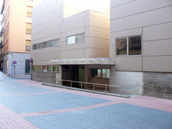 Imagen del juzgado de guardia de Zaragoza