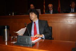 El consejero de Hacienda y Administración Pública, Mario Garcés