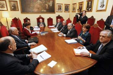 Último Pleno del TC realizado fuera de su sede habitual, en Valencia
