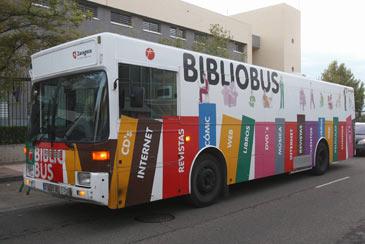 Bibliobús por fuera