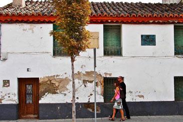Casa del pintor en Villanueva de Gállego