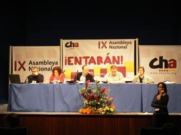 La Asambleya ha debatido a lo largo del día más de 200 enmiendas sobre la organización interna de la formación política