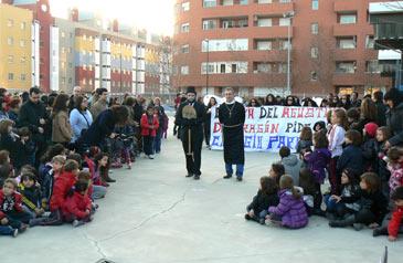 El acto se ha desarrollado este miércoles por la tarde en el patio del colegio