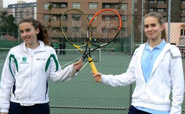Las tenistas entrenan duro para seguir cosechando éxitos