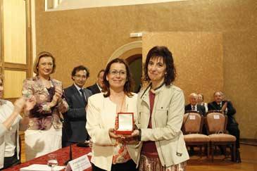 Las aulas hospitalarias han recibido la Medalla de la Educación Aragonesa 2012