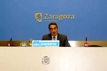 Julio Calvo es concejal del PP