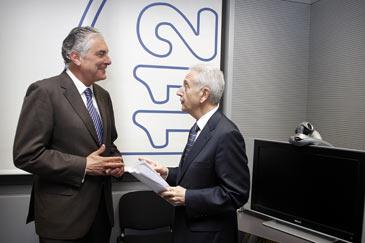 Lobón y Suárez colaboran en la organización del dispositivo de prevención y extinción de incendios