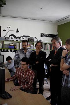 Con un equipo de 24 personas, Entropy Studio ya ha conseguido hacerse un hueco en Hollywood