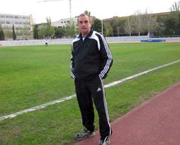 Berdejo ha lamentado el trágico final del club. Foto: web futbolenaragon