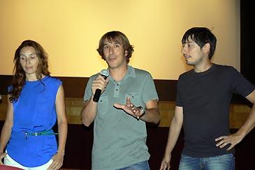 Público asistente a la primera sesión del Certamen de Largometrajes