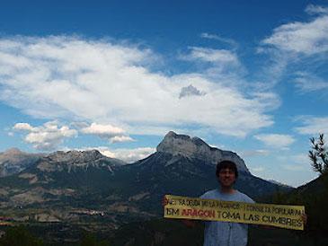 """""""Toma las Cumbres"""" en La Peña Montañesa en la comarca oscense del Sobrarbe"""