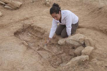Imagen de archivo de las excavaciones de Segeda