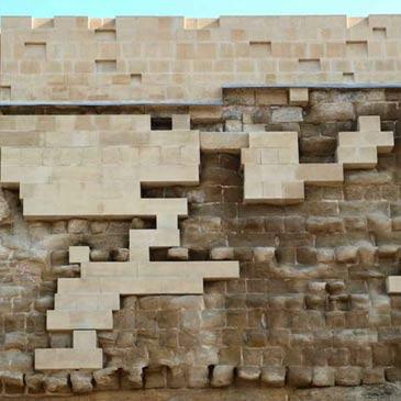 La muralla medieval de Huesca tras la restauración