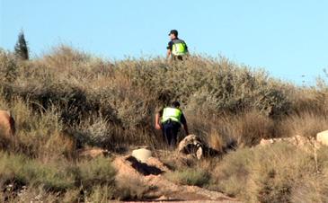 Esta mañana un helicóptero y guías caninos de Madrid se han sumado a la búsqueda