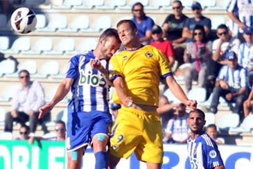 Oriol Riera no saldrá del club en el mercado invernal. Foto: web A.D. Alcorcón