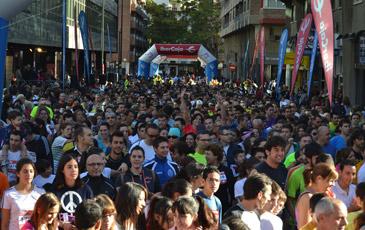 La participación ha vuelto a ser un éxito en la Carrera Popular