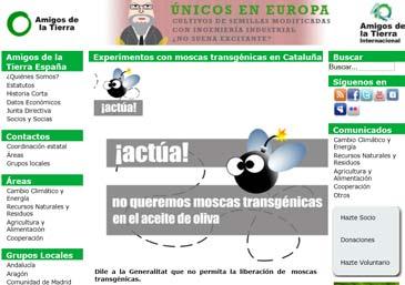 Imagen de la campaña de recogida de firmas online