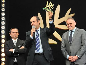 Aref Laham, socio fundador y director general de Orion Capital Managers, recogió el galardón