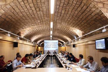 Imagen de la reunión mantenida este miércoles
