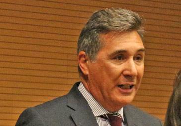 Imagen de archivo del consejero de Sanidad, Bienestar Social y Familia, Ricardo Oliván
